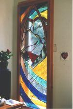 Stained Glass Windows made on Gabriola Island, near Nanaimo, BC, Vancouver Island