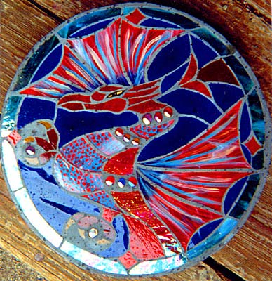 Stained glass stepping stones stepping stones step stones stained glass stepping stones made on gabriola island near nanaimo bc vancouver island pronofoot35fo Images