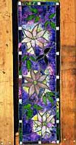 Stained Glass Wall Murals made on Gabriola Island, near Nanaimo, BC, Vancouver Island